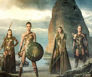 Wonder Woman Amazonian women
