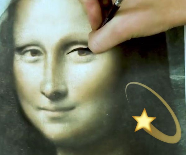Please Watch This Video Of The Mona Lisa Getting An Instagram-Inspired Beauty Makeover