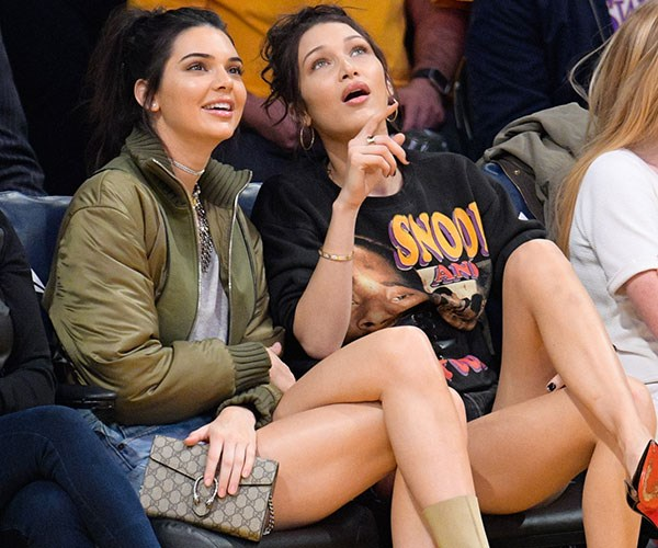 Kendall Jenner Courtside Style Moments