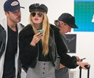 How The Victoria's Secret Angels Do Airport Style