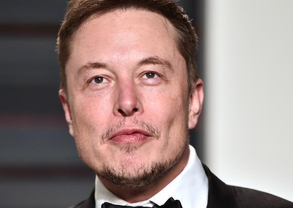 Elon Musk Vanity Fair Party