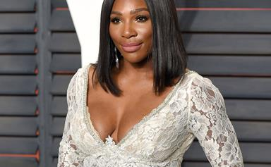 Serena Williams Wore Sparkly Nike Sneakers At Her Wedding Reception Because She Is A Queen