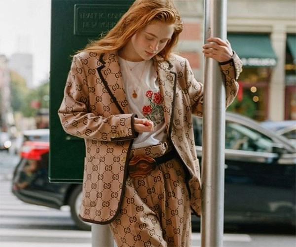 Sadie Sink Gucci Interview Magazine
