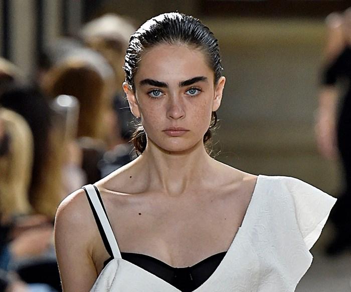proenza schouler runway eyebrows