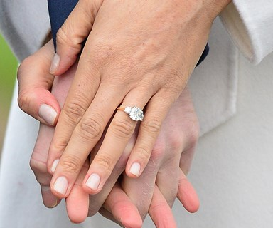 The History And Meaning Behind Meghan Markle's Royal Engagement Ring