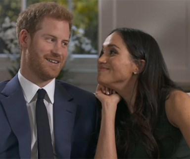 Prince Harry And Meghan Markle Could Not Be Cuter In This Sweet, Goofy Interview Footage