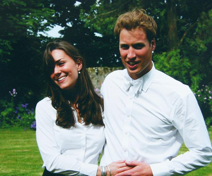 Prince William and Kate Middleton at St. Andrews University