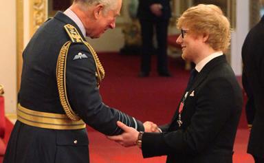 Ed Sheeran Just Broke Royal Protocol While Meeting Prince Charles