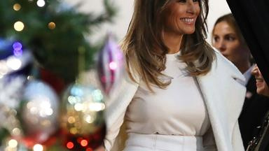 Melania Trump Said She Wants To Spend Christmas On A Deserted Island