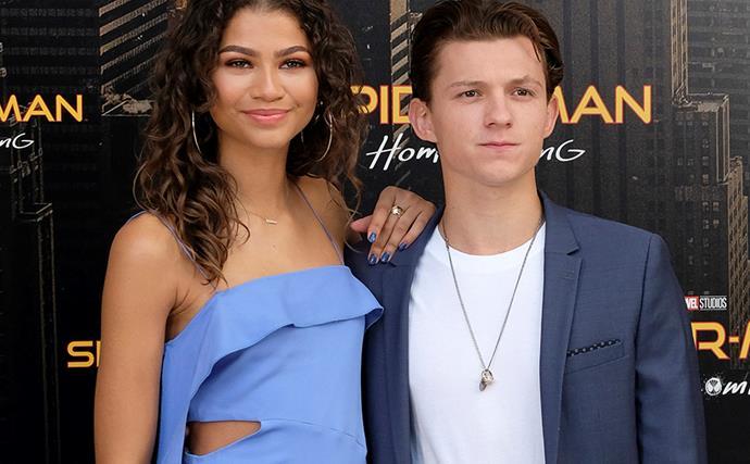 Zendaya and Tom Holland.