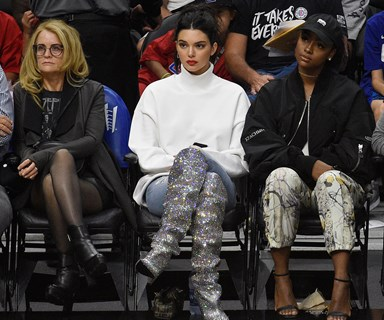 Here Are Some Celebrities Who Love Wearing Ridiculous Things To Watch Sport