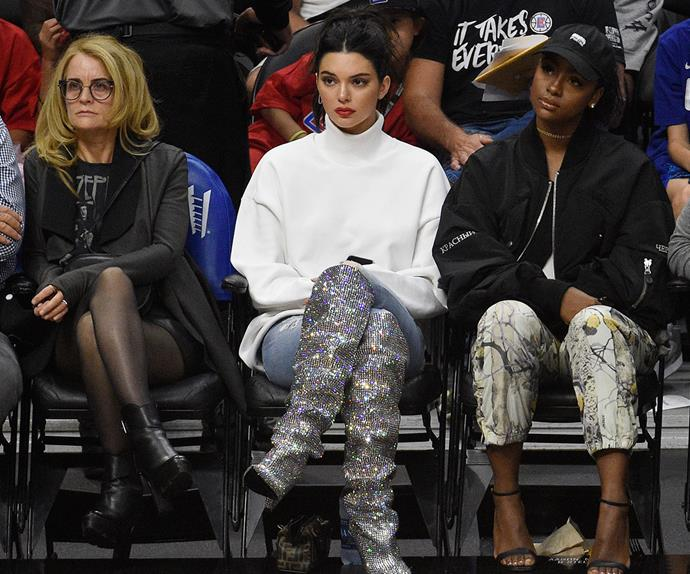 Kendall Jenner Basketball boots