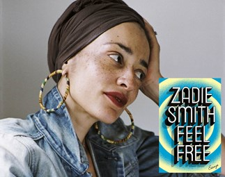 "WIN A Copy Of ""Swing Time"" Author Zadie Smith's New Book, ""Feel Free"""