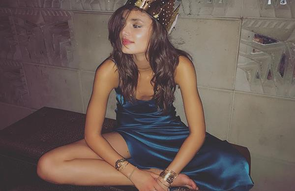 Taylor Hill Party Instagram