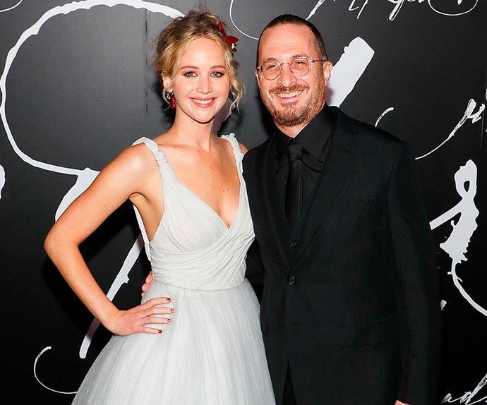 Jennifer Lawrence and Darren Aronofsky.