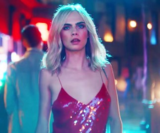 Cara Delevingne for Jimmy Choo.