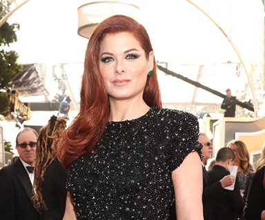 Debra Messing And Eva Longoria Call Out E! Over Gender Pay Disparity On The Golden Globes Red Carpet