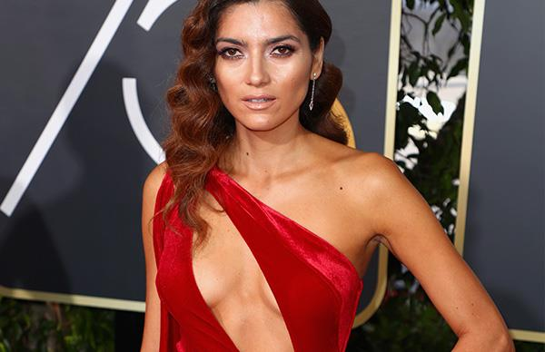 Red Dress Golden Globes