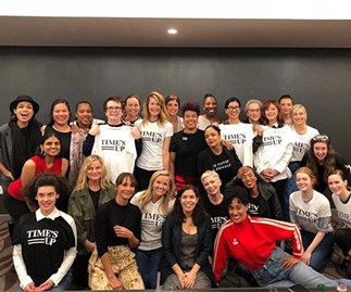 Tessa Thompson Time's Up Group Photo