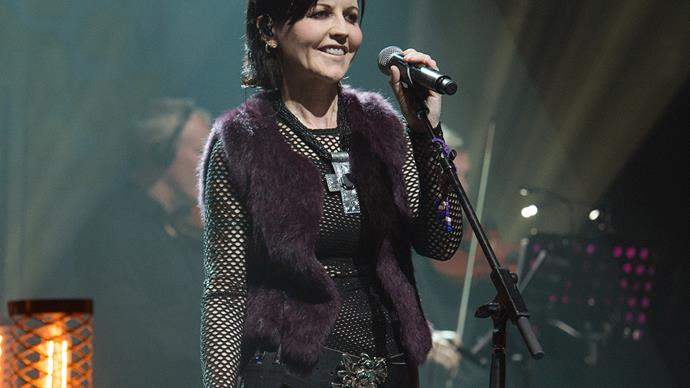 Dolores O'Riordan Singer of The Cranberries