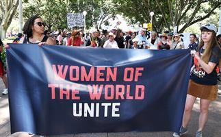 2017 Women's March Sydney.