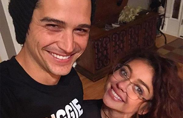 Wells Adams and Sarah Hyland