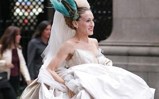 Carrie Bradshaw Wedding