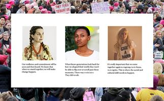 Women's March Sydney 2018.