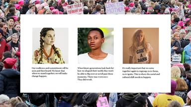 How The Voices Behind The 2018 Women's March Are Powering The Movement