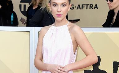 Millie Bobby Brown Wore Converse On The SAG Awards Red Carpet