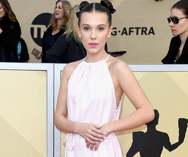 Millie Bobby Brown Wore Sneakers On The Red Carpet