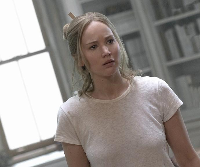 Jennifer Lawrence in mother!