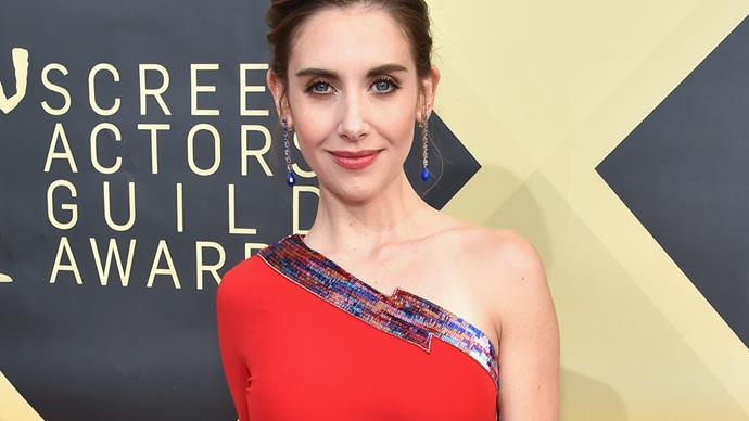Alison Brie at 2018 SAG Awards