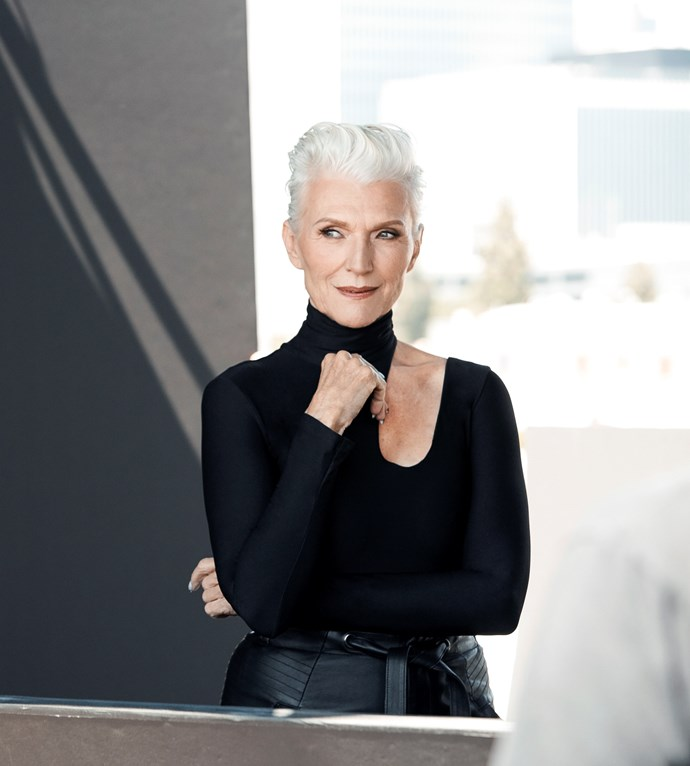 CoverGirl Star Maye Musk Wants You To Cover Up