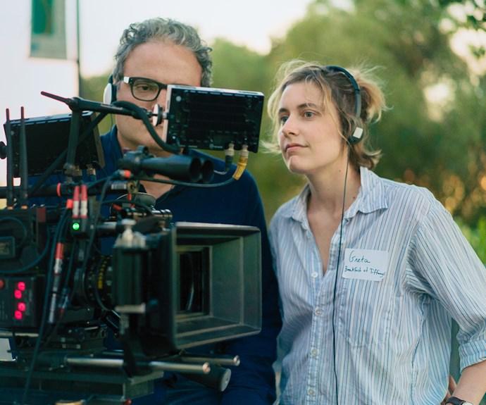 Greta Gerwig Directing Lady Bird