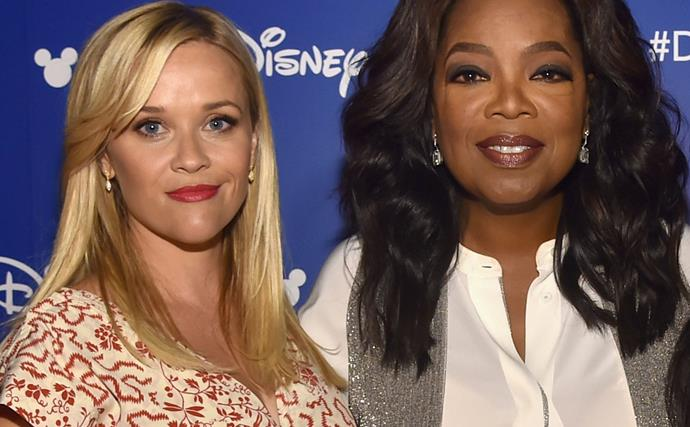 Oprah and Reese Witherspoon Poke Fun At The Photoshop Fails That Gave Them Extra Limbs