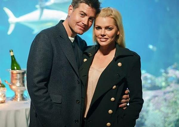 Sophie Monk and Stu Laundy