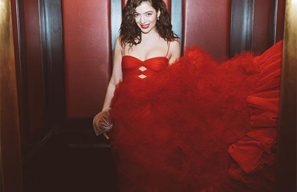 Lorde at 2018 Grammys
