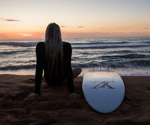 Surfer Laura Enever