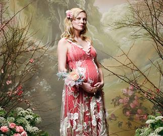 Kirsten Dunst Baby Bump Rodarte