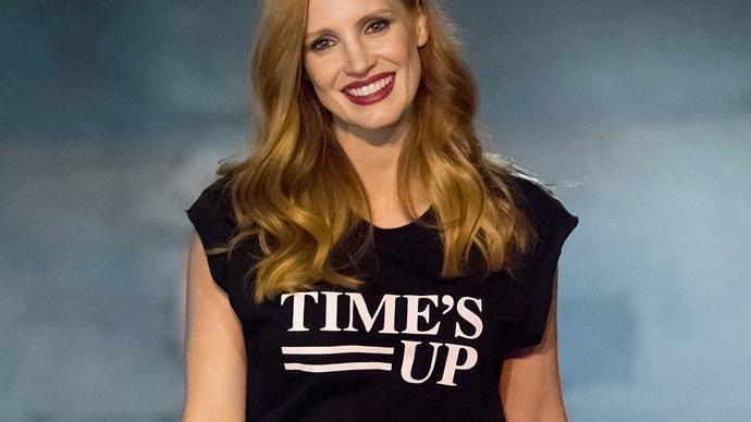 Jessica Chastain Time's Up