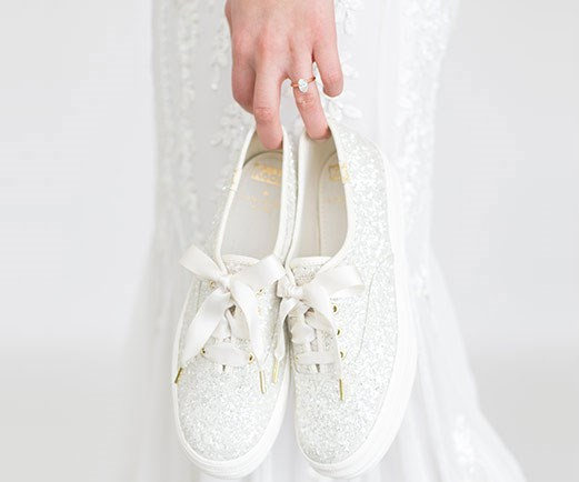 Kate Spade And Keds Have Launched A Range Of Wedding Sneakers For The Bride Who Values Comfort