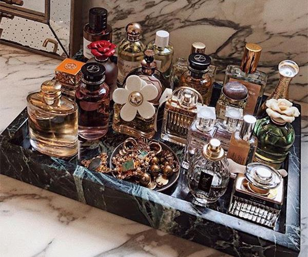 Fragrance Storage Ideas