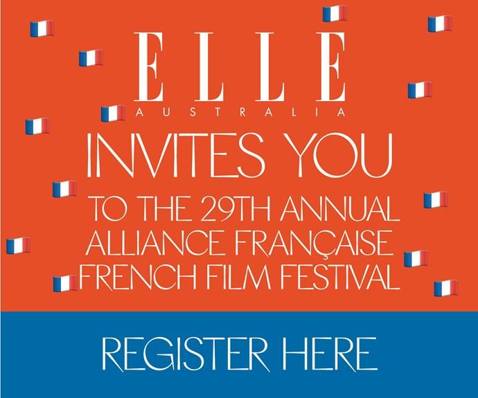 ELLE Australia invites you to the French Film Festival