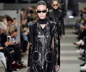 Matrix Jackets Are Taking Over New York Fashion Week Because Apparently It's 3018