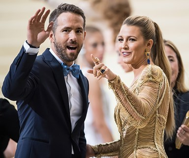 Blake Lively Nudging Ryan Reynolds To Compliment Her Weight Loss Is The Valentine's Day Story You've Been Craving