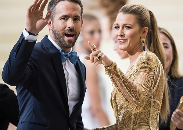 Blake Lively Ryan Reynolds Instagram