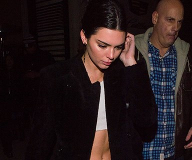 Kendall Jenner Calls Kris In The Middle Of A Panic Attack