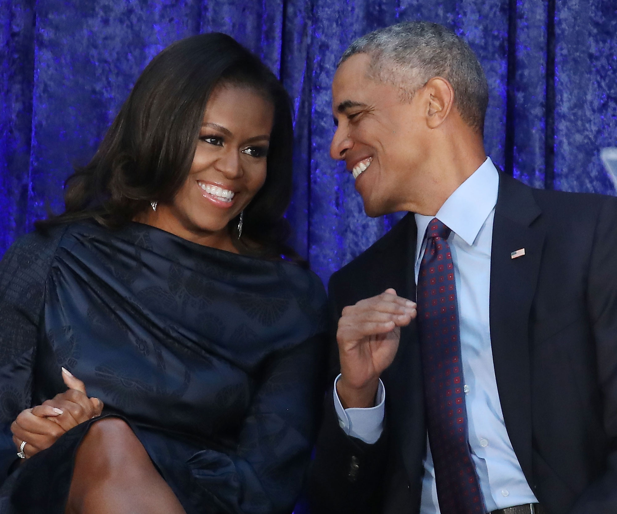 The Obamas Send Heartwarming Messages To Each Other For Valentines Day