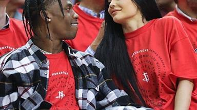 Kylie Jenner And Travis Scott Share Their First Photo Together Since The Birth Of Baby Stormi